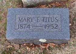 Mary F Titus