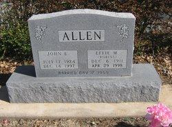 Effie M. <i>Robins</i> Allen