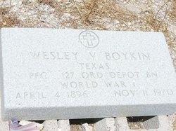 Wesley Vivian Boykin