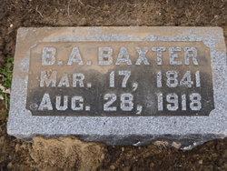 Benjamin A Baxter