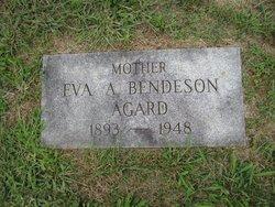 Eva A <i>Bendeson</i> Agard