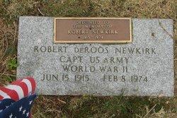 Capt Robert DeRoos Newkirk