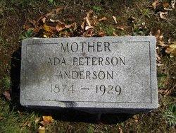 Ada <i>Peterson</i> Anderson