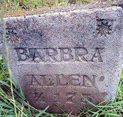 Barbara Olive <i>Hutson</i> Allen