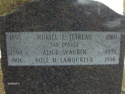 Rose <i>St. Aubin</i> Lamoureaux