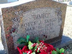 Boyce J Bimbo Fargo