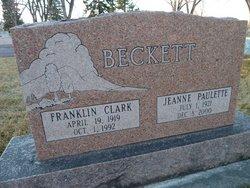 Jeanne Paulette Beckett