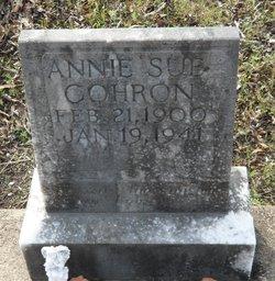 Annie Sue <i>Parker</i> Cohron