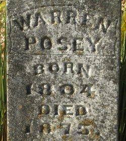 Warren Monroe Posey