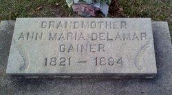 Ann Maria <i>Gainer</i> Buchan