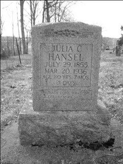 Julia Catherine <i>Nations</i> Hansel