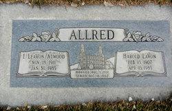 Florence LeaVon <i>Atwood</i> Allred