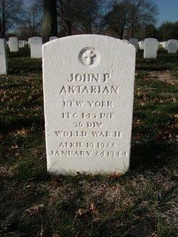 John P Aktarian