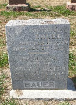 Ida Helane <i>Bauer</i> Smith