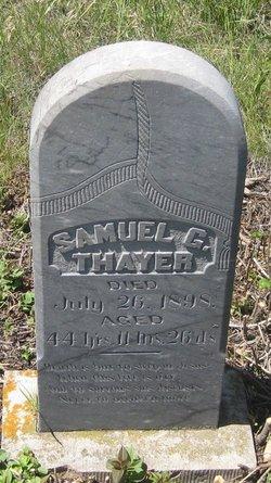Samuel Gardner Thayer