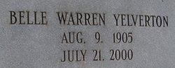 Ira Belle <i>Warren</i> Yelverton