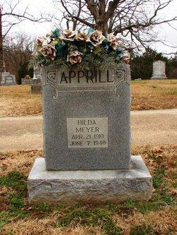Hilda <i>Meyer</i> Apprill