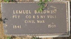 Pvt Lemuel Baldwin