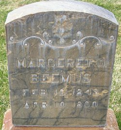 Margaret Amelia <i>Jones</i> Beemus