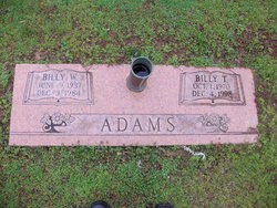 Billy Wayne Adams