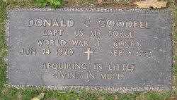 Capt Donald C Goodell