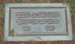 Ethel A Holliday