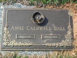 Anne <i>Caldwell</i> Ball