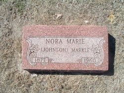 Nora Marie <i>Johnson</i> Markle