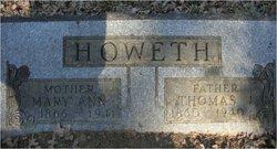 Mary Ann <i>Crites</i> Howeth