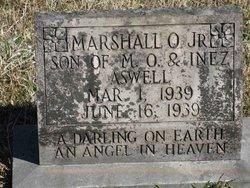 Marshall O Aswell, Jr