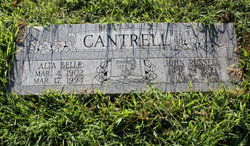 Alta Belle <i>McKee</i> Cantrell