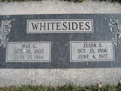Emma Mae <i>Carver</i> Whitesides
