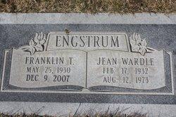 Jean <i>Wardle</i> Engstrum