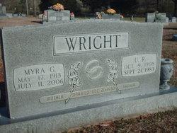 Myra <i>Groover</i> Wright