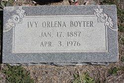 Ivy Orlena <i>Byars</i> Boyter