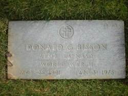 Donald G Bisson