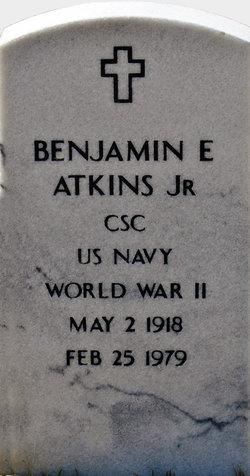 Benjamin E Atkins, Jr