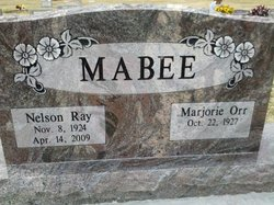 Nelson Ray Mabee