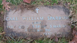 Pvt Carl William Sparrow