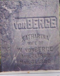Katharina Katrina <i>Schmitt</i> Von Berge