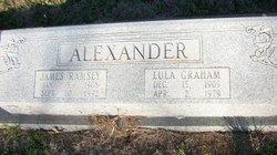 Lula <i>Graham</i> Alexander