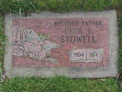 Cecil Edward Stowell