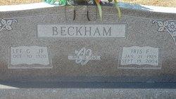 Iris F <i>Farley</i> Beckham