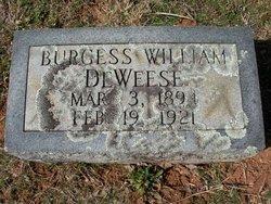 Burgess William DeWeese