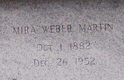 Mira <i>Weber</i> Martin