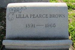 Lilla Lee <i>Pearce</i> Brown