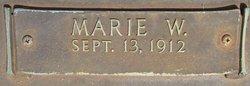 Marie W. Adams