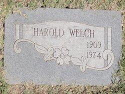 Harold Welch