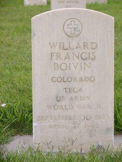 Willard Francis Bill Boivin