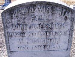 Evelyns Virginia <i>Fall</i> Carlton
